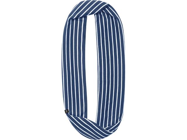 Buff Infinity Scarf denim stripes